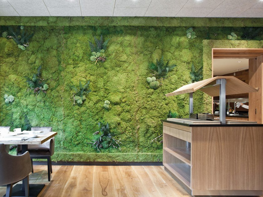 Moss indoor vertical garden GREENWOOD EXTRA by Freund GmbH