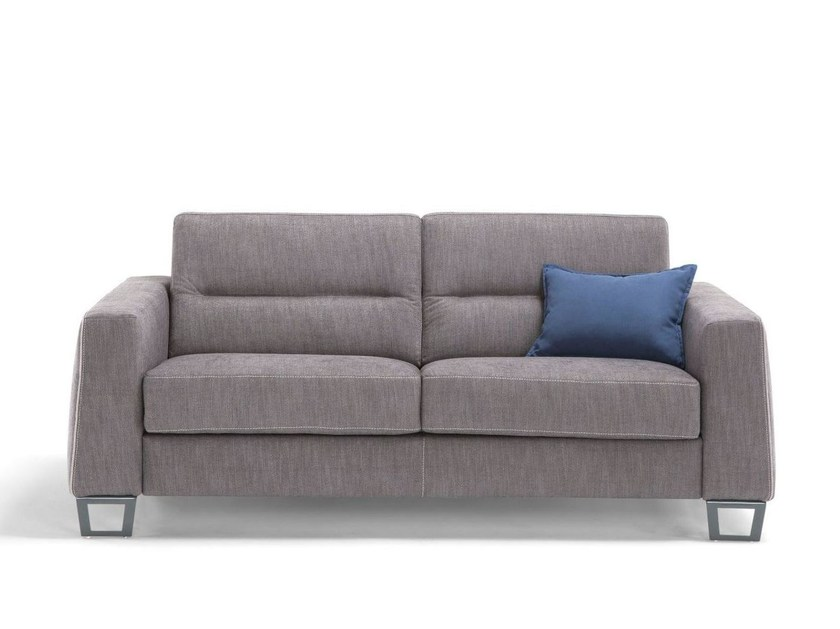 Fabric sofa bed with removable cover GRETA by Dienne Salotti