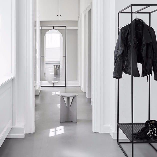 Contemporary Style Steel Coat Rack GRID COAT STAND | Coat Rack By Kristina  Dam Studio Design Ideas