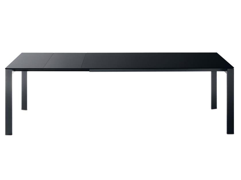 Extending rectangular table GRID by Desalto