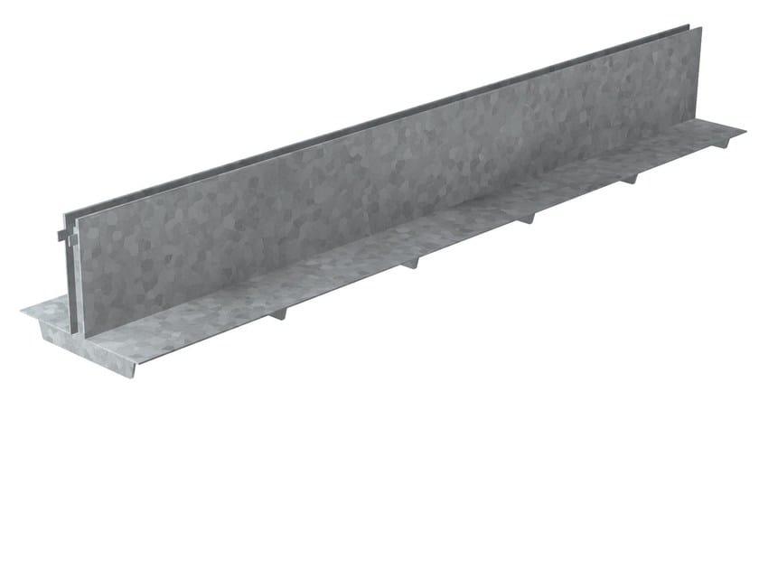Griglia a fessura simmetrica in acciaio zincato