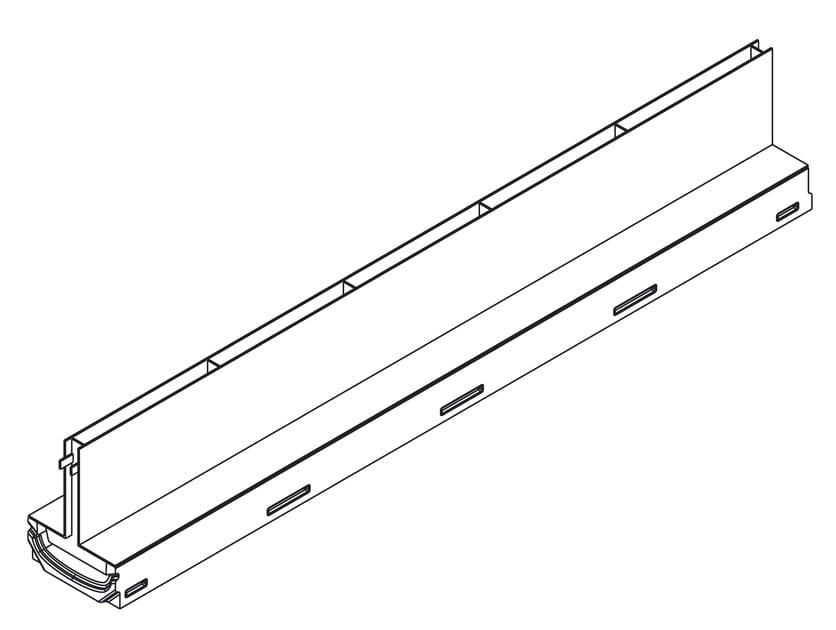 Filcoten Light 100 mini con griglia a fessura simmetrica