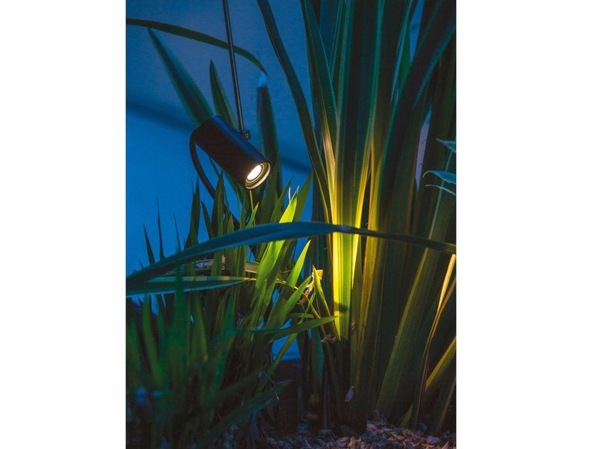 LED adjustable metal Floor lamp GRILLO by DAVIDE GROPPI
