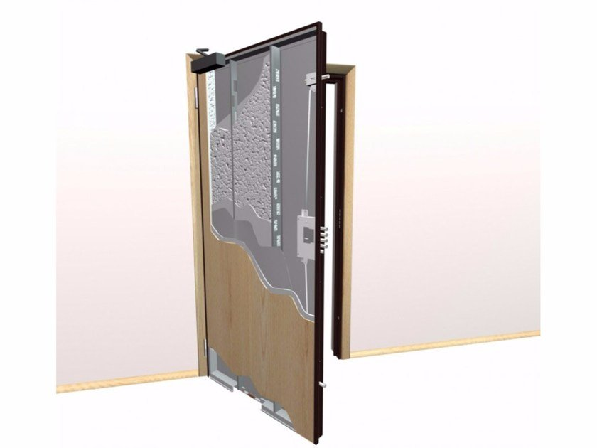 Fire-rated safety door GRISOU | Safety door by Metalnova