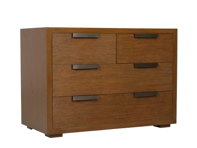 Solid wood chest of drawers GRIT | Chest of drawers by WARISAN