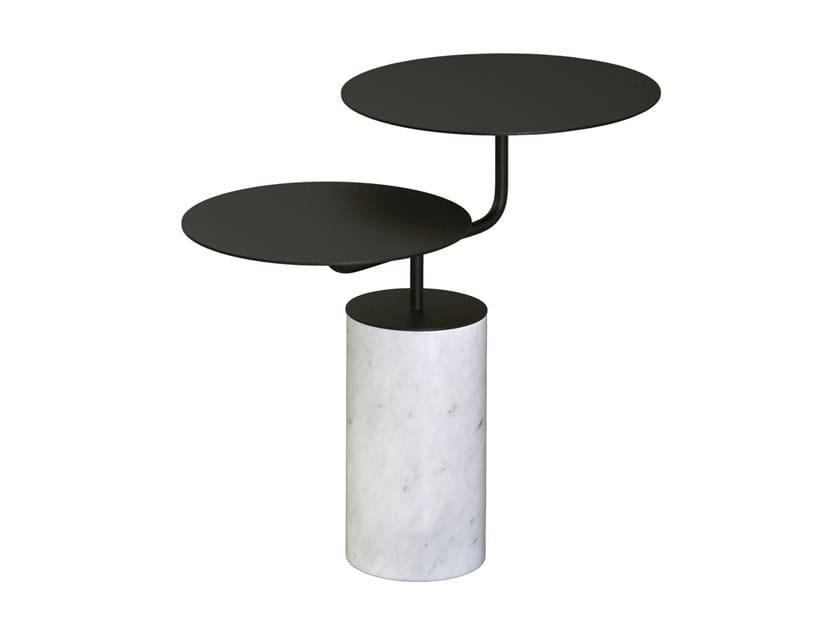 Metal coffee table for living room GROOM by RADAR INTERIOR