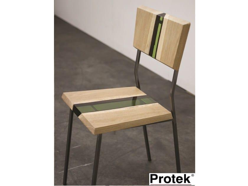 Sedie In Resina Colorate.Groove Sedia By Protek