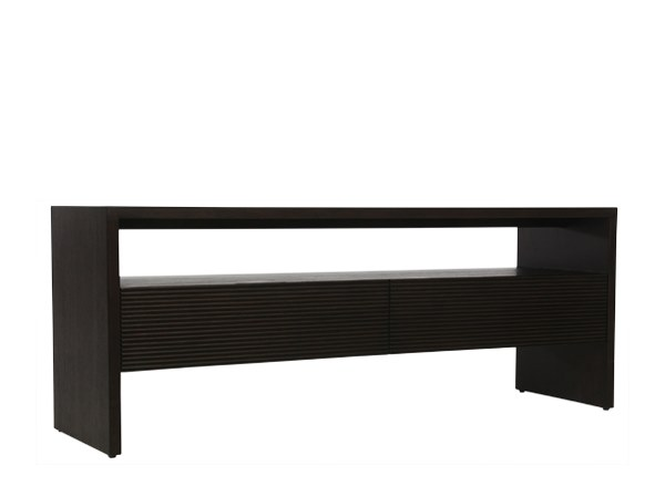 Solid wood TV cabinet GROOVE | TV cabinet by WARISAN