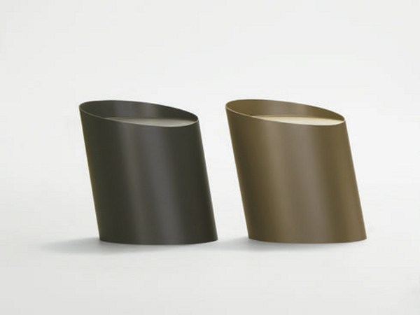 Metal stool GROOVE by da a