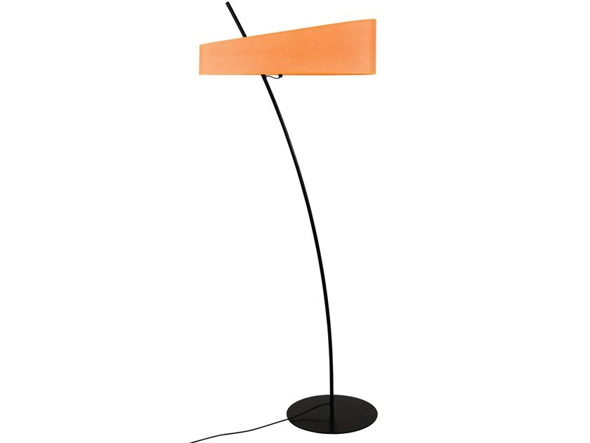 Fabric floor lamp GROOVY by LUZ EVA