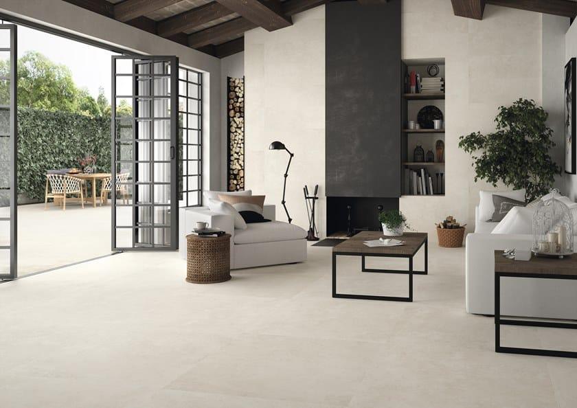 Pavimento rivestimento effetto cementine per interni ed esterni