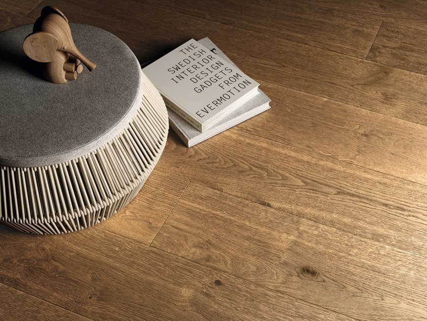 Brushed oak parquet GROUND Ground Collection By Woodco