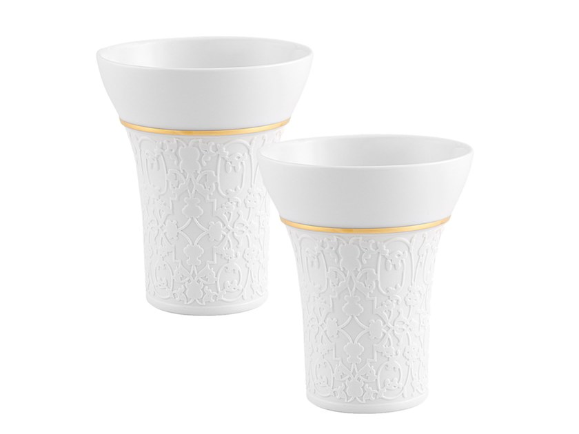 Porcelain glass (2 pcs.) GRYPHUS | Glass by Vista Alegre