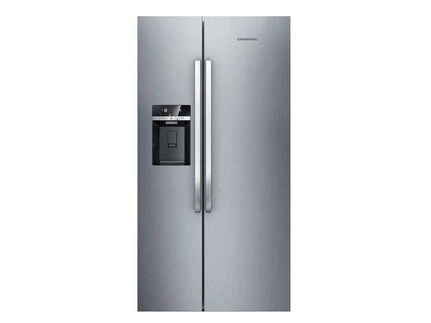 Kühlschrank No Frost A : Gsbs fx no frost kühlschrank by grundig