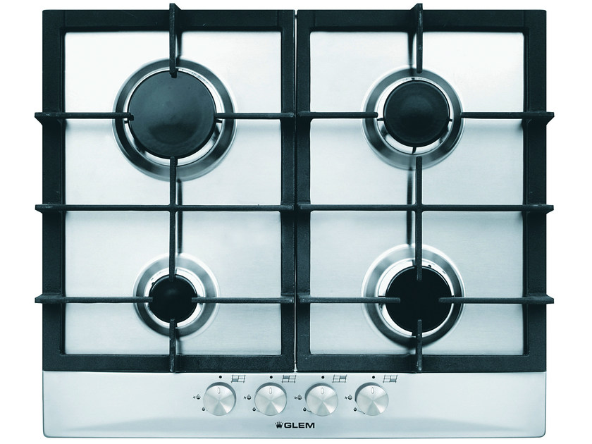 Gas built-in hob GT64HIX | Hob by Glem Gas