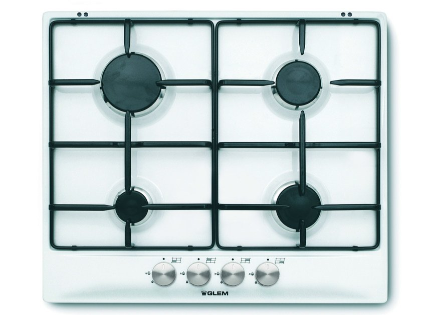 Gas built-in hob GT64WH | Hob by Glem Gas