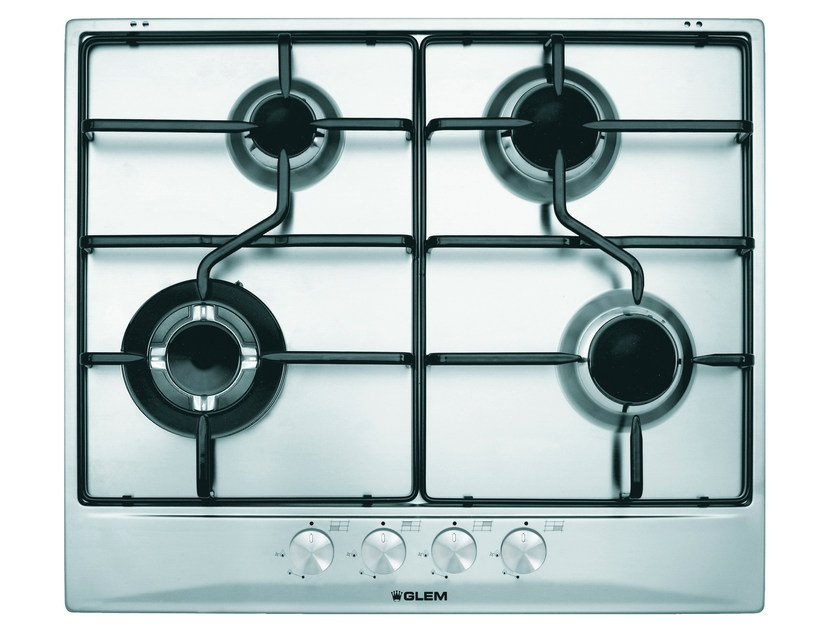 Gas built-in hob GT685IX | Hob by Glem Gas