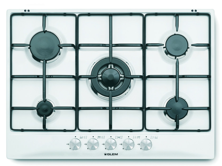 Gas built-in hob GT755WH | Hob by Glem Gas