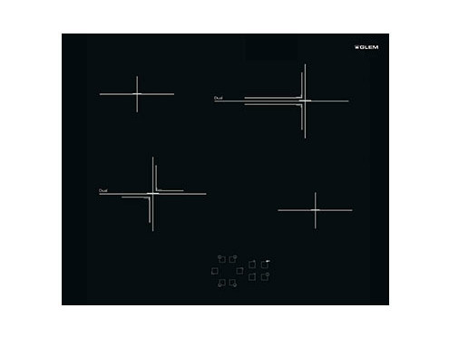 Induction built-in hob GTHP85T | Hob by Glem Gas