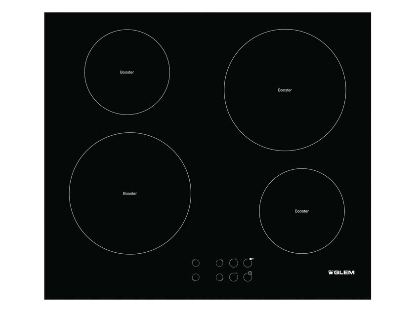 Induction built-in hob GTI64L | Hob by Glem Gas