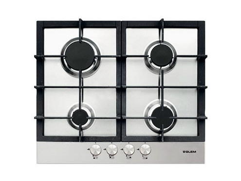 Gas built-in hob GTP64HIX | Hob by Glem Gas