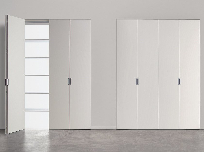 Folding cabinet door for walk-in wardrobes GUARDAROBA 25 by Ghizzi & Benatti