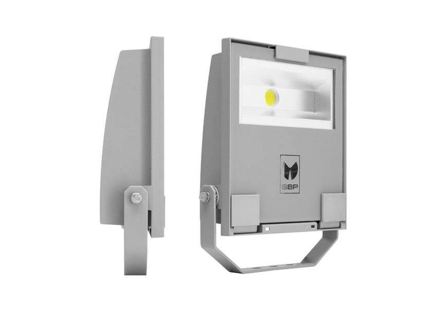 LED adjustable Outdoor floodlight GUELL 1 by PerformanceInLighting