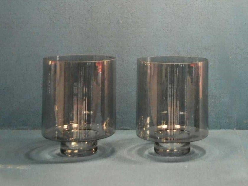 Glass vase GUEST by Adriani e Rossi edizioni