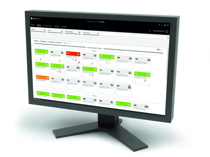 HOTEL ROOM MANAGEMENT Software di Supervisione