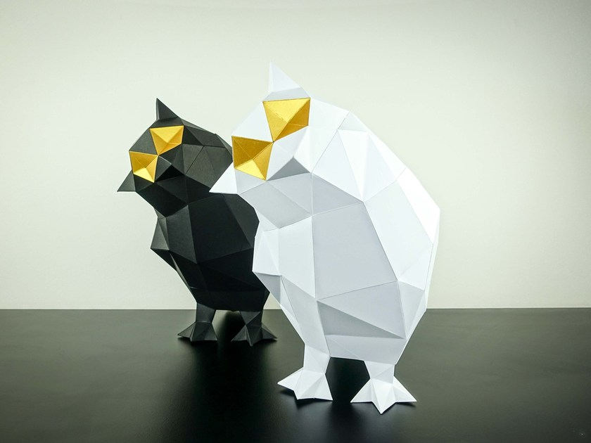 Paper Sculpture SQUIRREL By Papertrophy