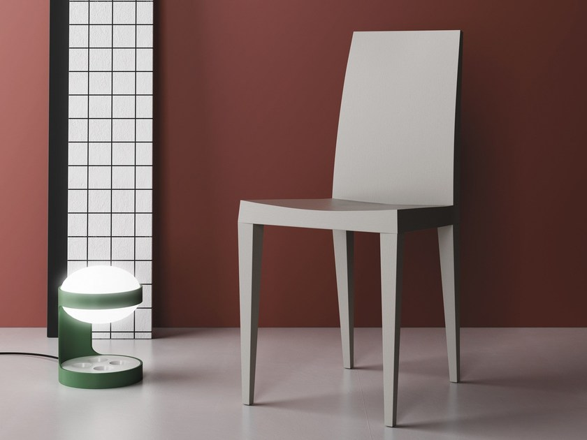 Solid wood chair GUGGENHEIM by Imperial Line