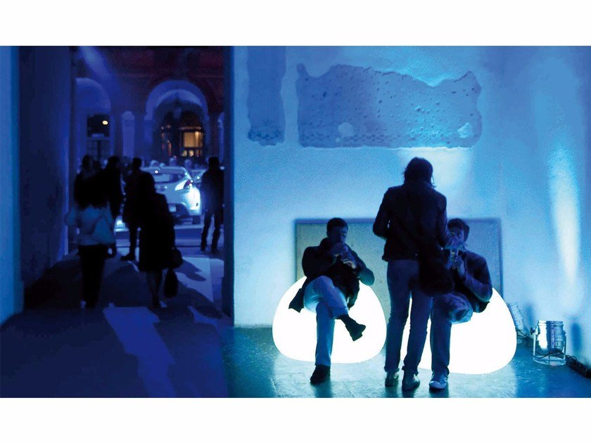 Light Armchair Plust In Gumball Poltrona Luminosa Polietilene eH9EDI2WYb