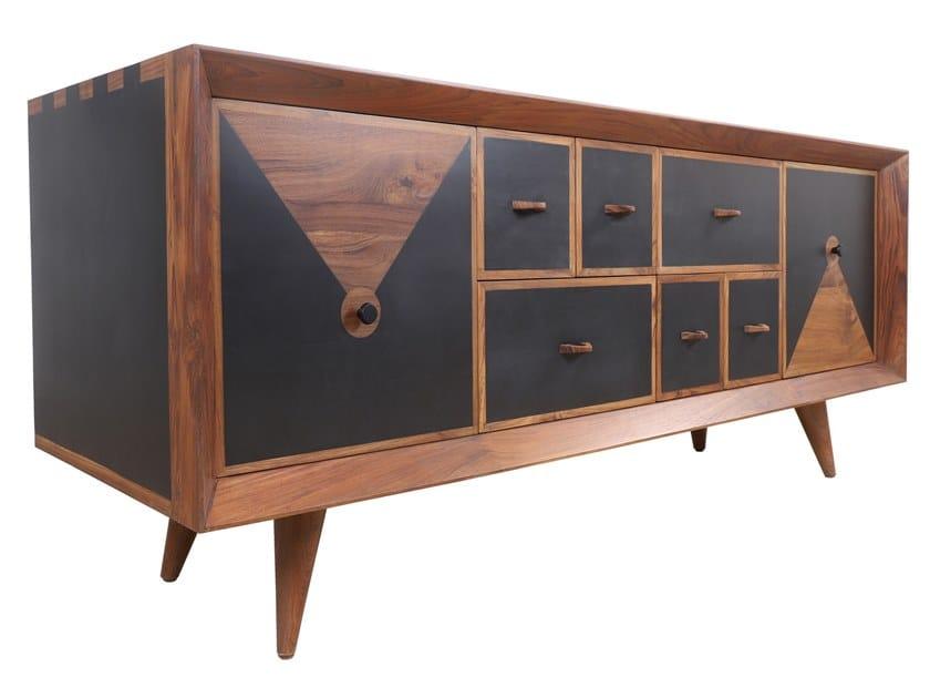 Wooden sideboard GURVI by ALANKARAM