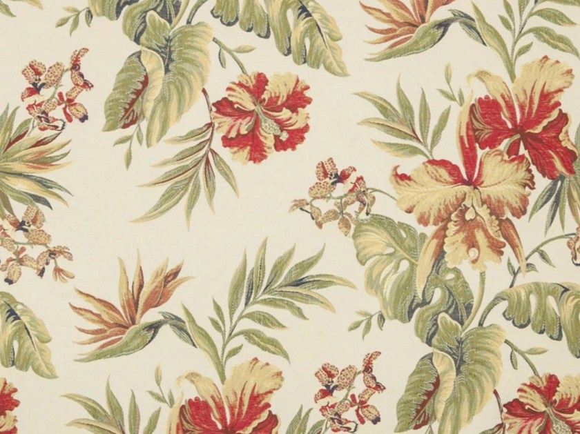 Viscose fabric with floral pattern GUYA by Gancedo
