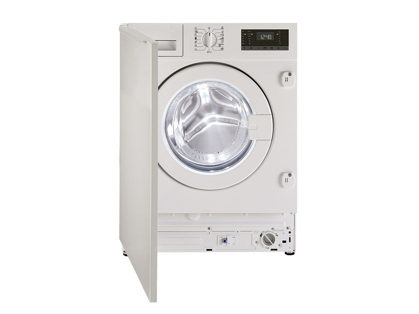 Built-in front loading washing machine GWI 3843 WB | Washing machine by Grundig