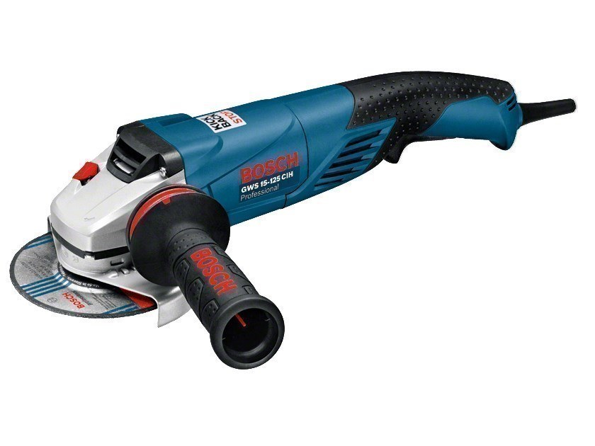 Angle grinders GWS 15-125 CIH Professional by BOSCH PROFESSIONAL