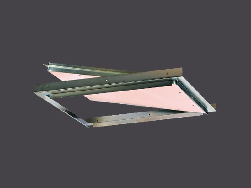 Hatches for Plasterboard with EI120 Fire protection GYPS FIRE EI 120 FALSE CEILINGS by Gyps