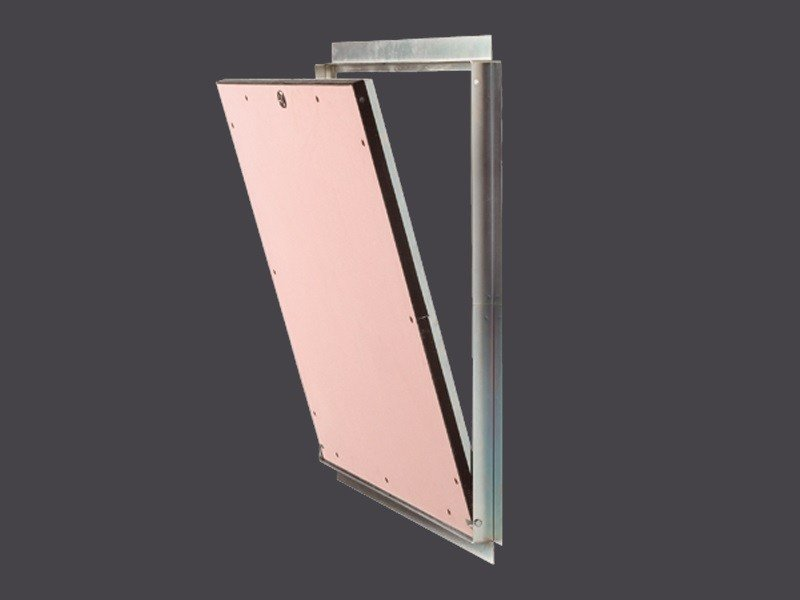 Hatches for Plasterboard with EI120 Fire protection GYPS FIRE EI 120 PARTITION WALL by Gyps