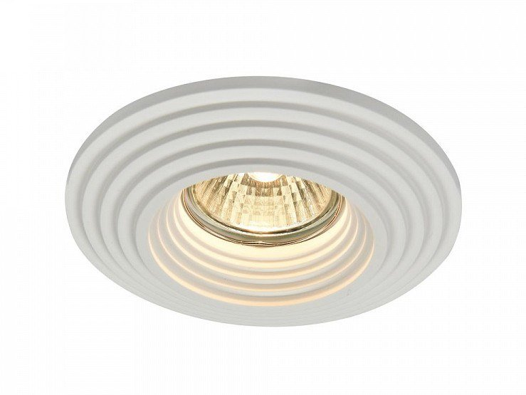 Round plaster spotlight GYPS MODERN | Recessed spotlight by MAYTONI
