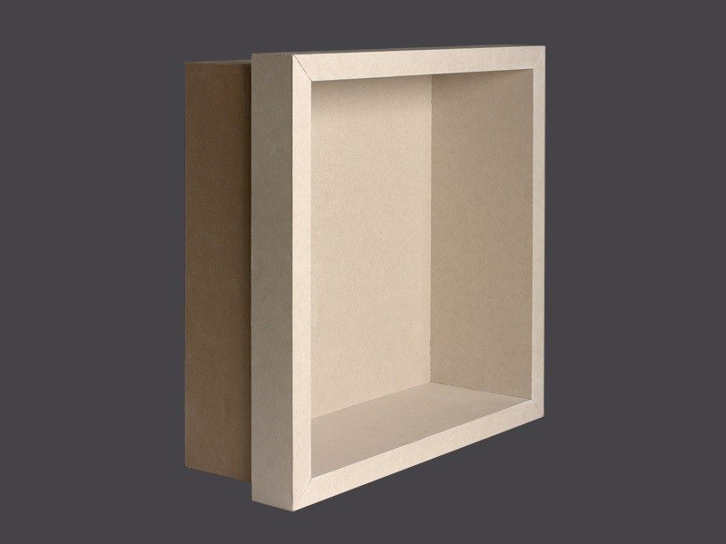 Re-trimmed niches in plasterboard GYPS SPACE RE-TRIMMED NICHES by Gyps