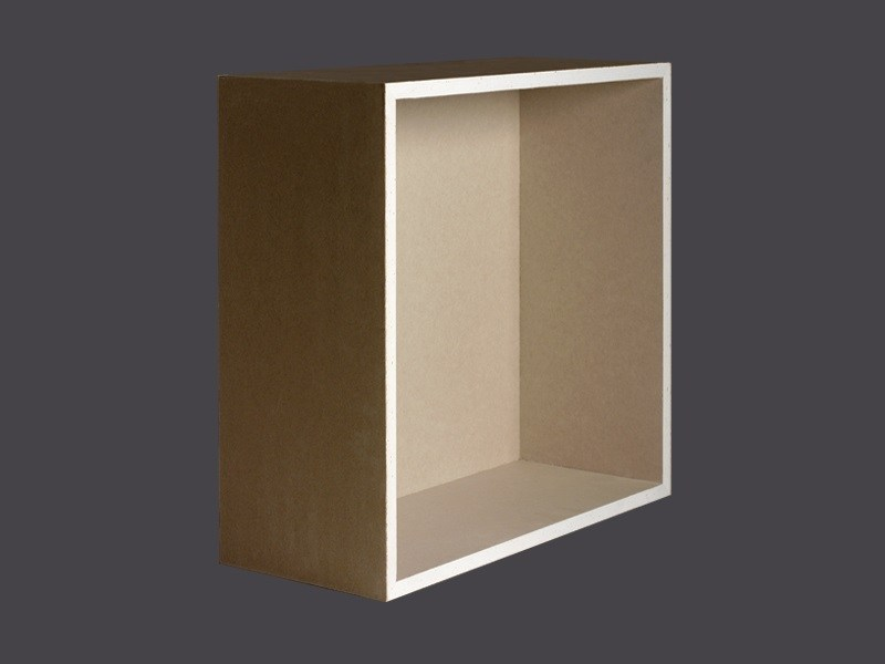 Niches in plasterboard flush with the wall GYPS SPACE NICHES FLUSH WITH THE WALL by Gyps