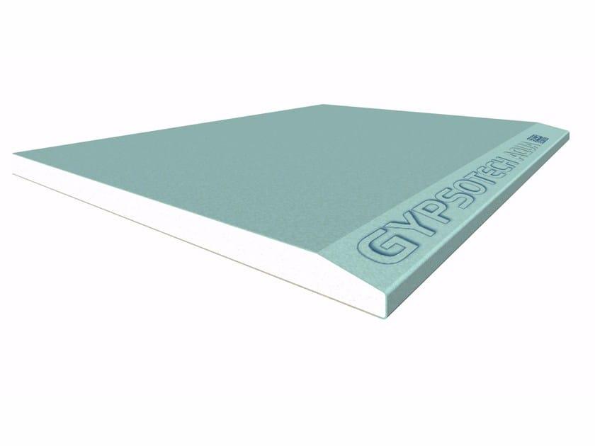 Moisture resistant gypsum plasterboard GYPSOTECH® AQUA TIPO DEH2 by FASSA