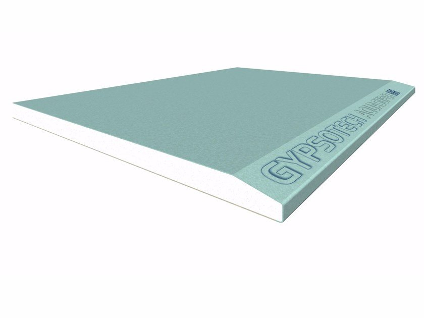 Gypsum plasterboard GYPSOTECH® AQUASUPER TIPO DEH1 by FASSA