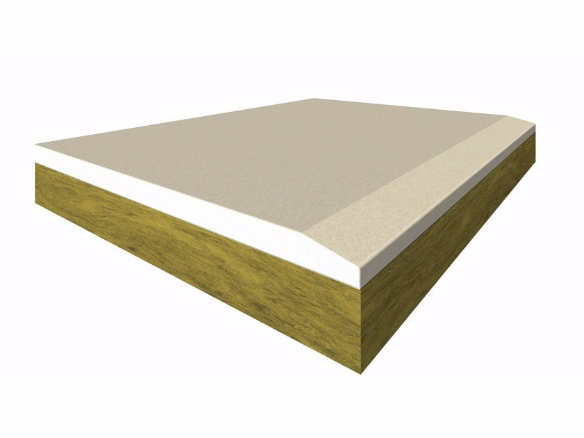 Thermal insulation panel GYPSOTECH® DUPLEX - ROCK WOOL by FASSA