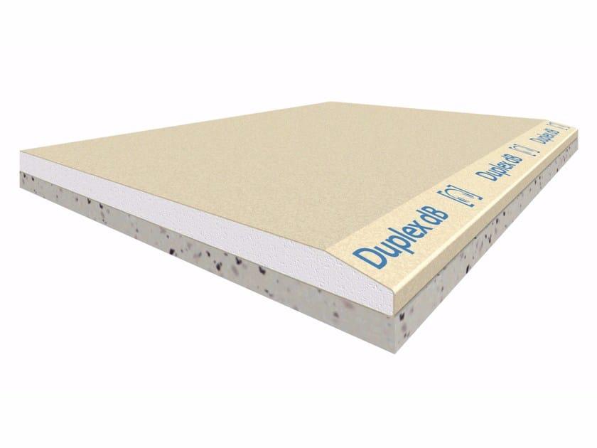 Prefabricated wall panel GYPSOTECH® DUPLEX dB by FASSA