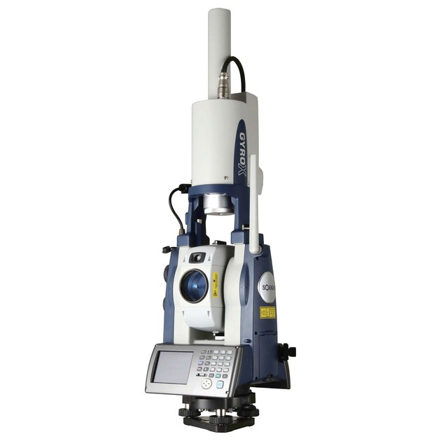 Instrument for topographic and geodetic survey GYRO X II series by NOVATEST