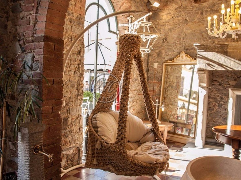 1 Seater garden hanging chair Garden hanging chair by GH LAZZERINI