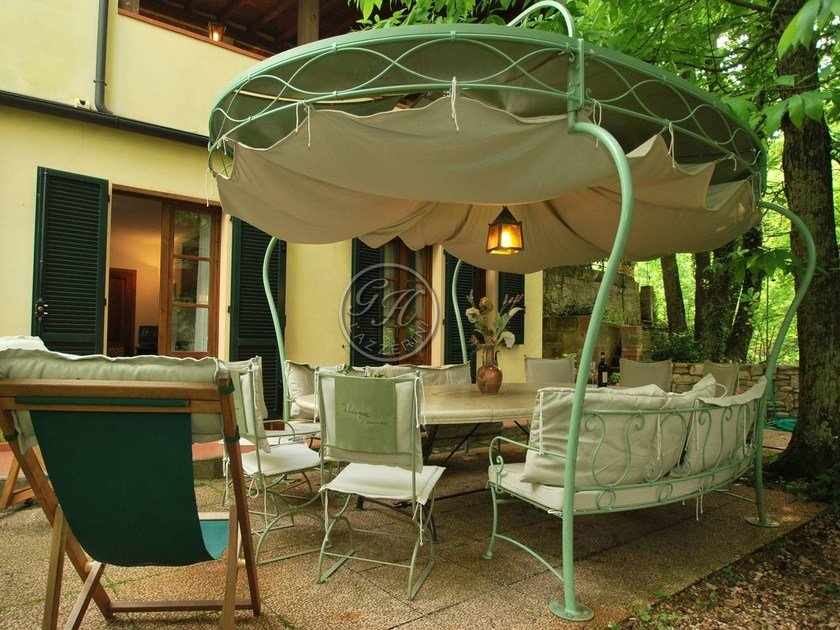 Wrought iron gazebo Gazebo 2 by GH LAZZERINI