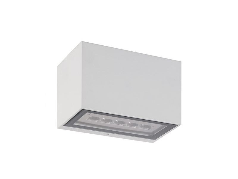 Luceco cube led wall light exterior decorative ip indoor or outdoor