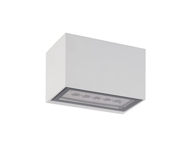 Applique per esterno a led a luce diretta e indiretta geko 5.1 l&l